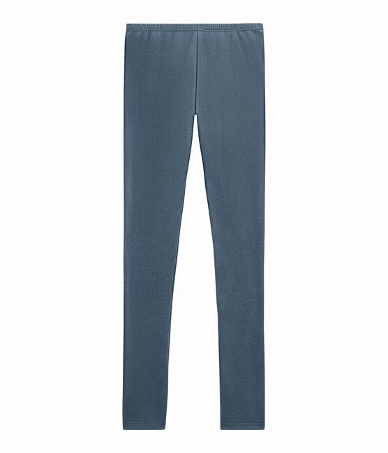 leggings donna blu Turquin