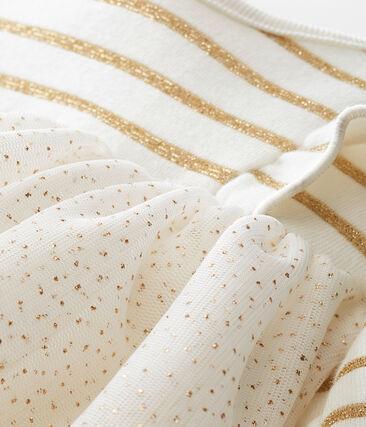 Abito in tulle con paillettes bebé femmina