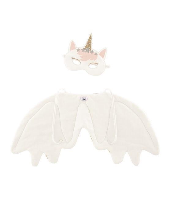 Accessori bambina bianco Marshmallow / giallo Or