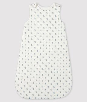 Sacco nanna bebè a costine bianco Marshmallow / grigio Gris