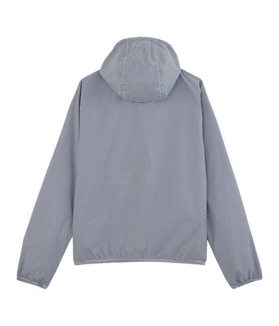 K-way corto unisex blu Smoking / bianco Marshmallow