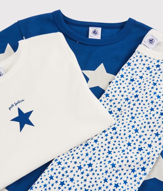 Confezione da 3 t-shirt manica corta stelle bambino lotto .