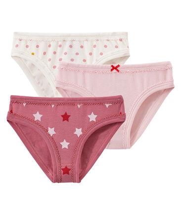 Lotto di 3 culottes per bambina
