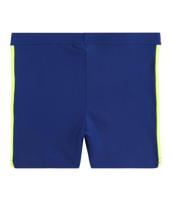 Costume da bagno ecoresponsabile bambino blu Touareg