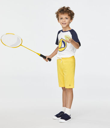 Bermuda bambino giallo Shine