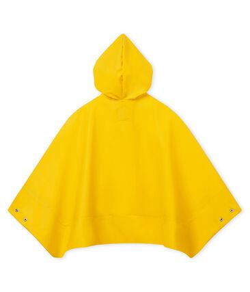 Mantella unisex per bambino giallo Jaune