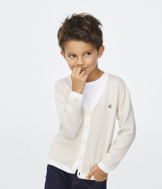 Cardigan bambino bianco Feta