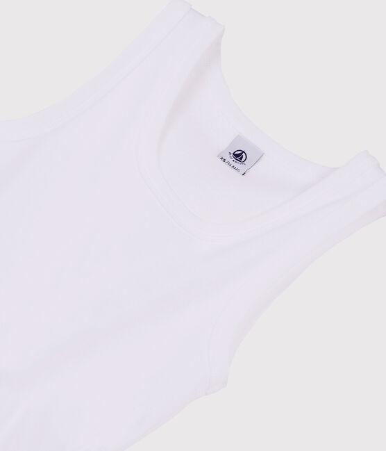Canottiera iconica Donna bianco Ecume