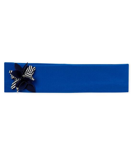 Fascia capelli bebè femmina blu Riyadh