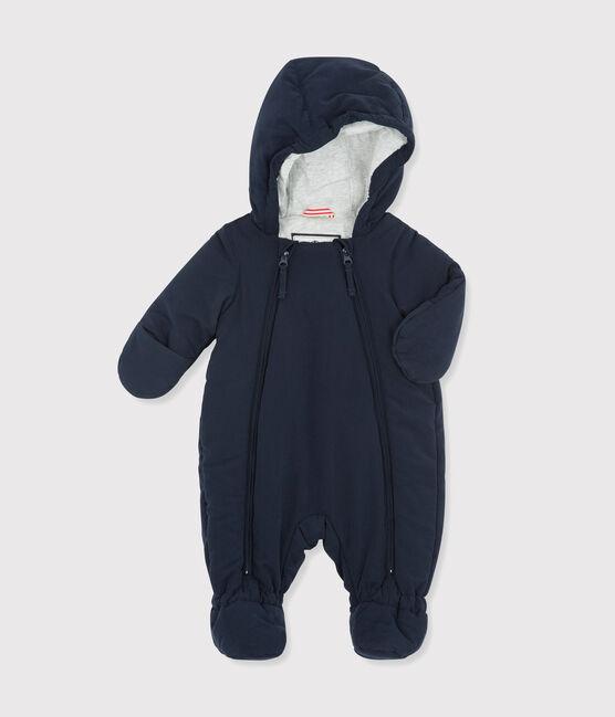 Tutina pilota bebè femmina/maschietto blu Abysse