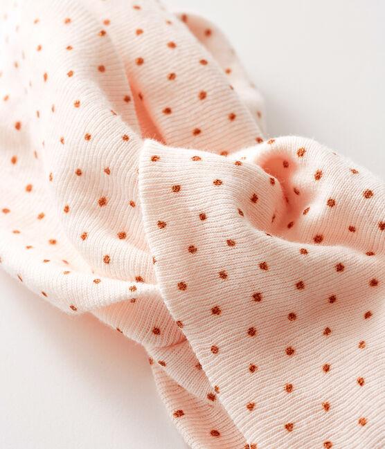 Fascia per capelli bebè bambina rosa Fleur / rosa Copper