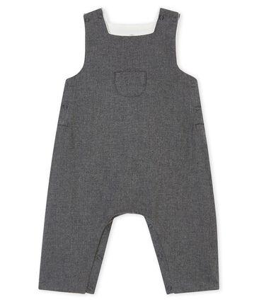 Salopette in flanella per bebé maschio