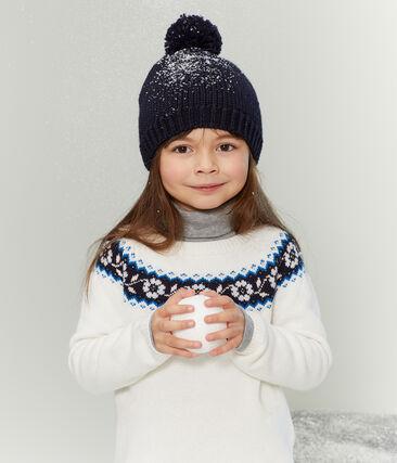 Pull bambina bianco Marshmallow / bianco Multico