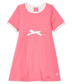 Abito body manica corta bebè femmina rosa Cupcake