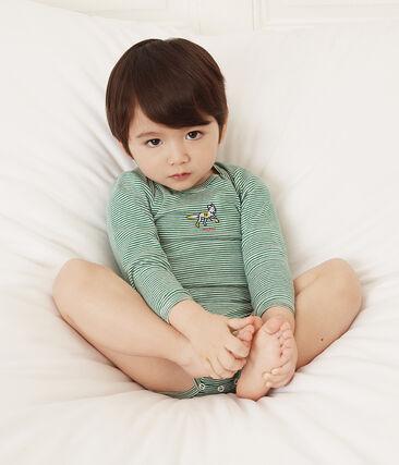 Confezione da 5 body a manica lunga bebè maschietto lotto .