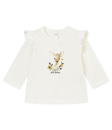 Blusa con volants per bebé femmina