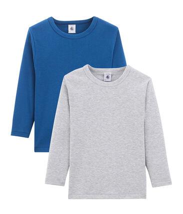 Duo t-shirt maniche lunghe bambino