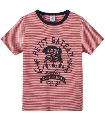 T-shirt bambino millerighe