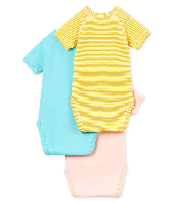 Trio body nascita manica corta bebè bambina lotto .