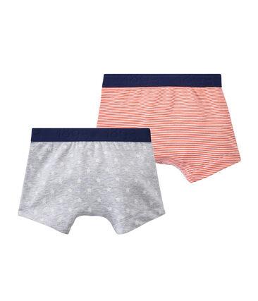 Lotto di 2 boxers per bambino