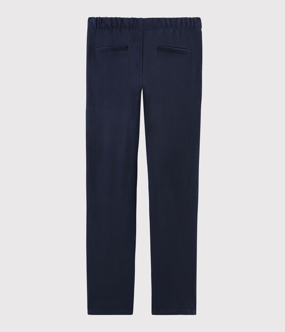 Pantalone blu navy Donna SMOKING