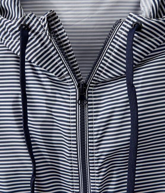 Giacchetta corto unisex blu Smoking / bianco Marshmallow