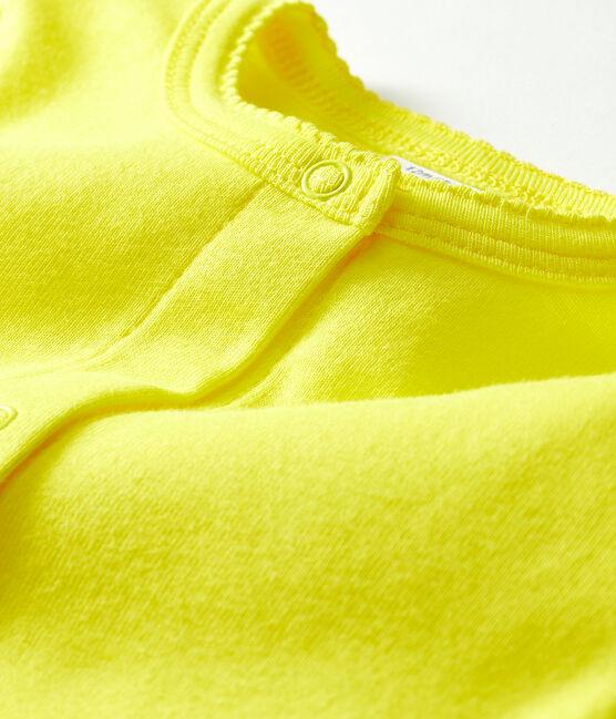 Cardigan leggero bebè femmina giallo Eblouis