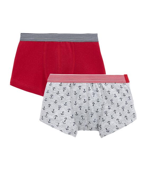 Lotto di 2 boxers per bambino lotto .