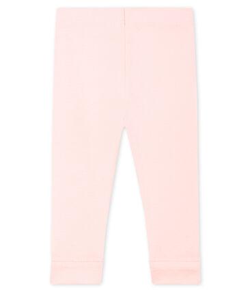 Leggings bebè femmina rosa Fleur