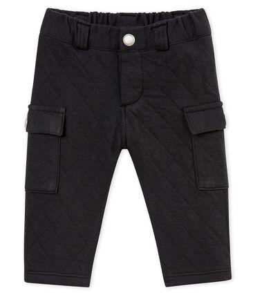 Pantalone bebé maschio in tubique matelassé grigio Capecod