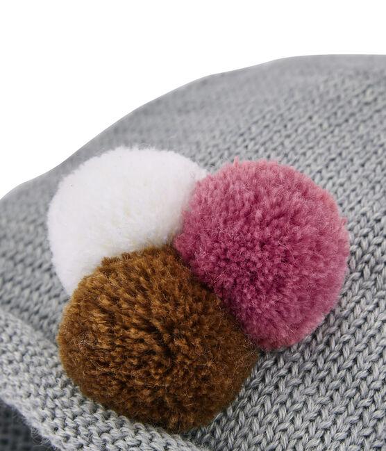 Cappello per bambina grigio Subway