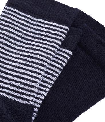Confezione da 2 paia di calzini bambino unisex