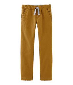 Pantaloni doppiati e caldi da bambino bianco Marshmallow / blu Crystal