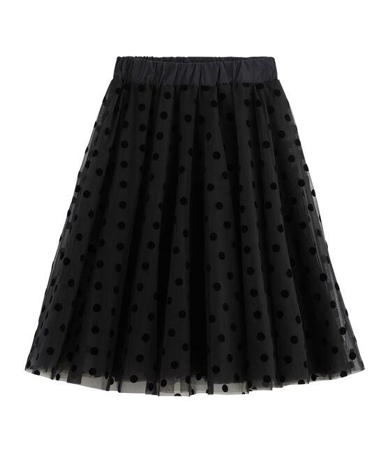 Gonna in tulle donna nero Noir