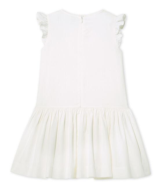 Robe de cérémonie fille bianco Lait
