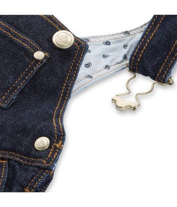 Abito salopette bambina di jeans