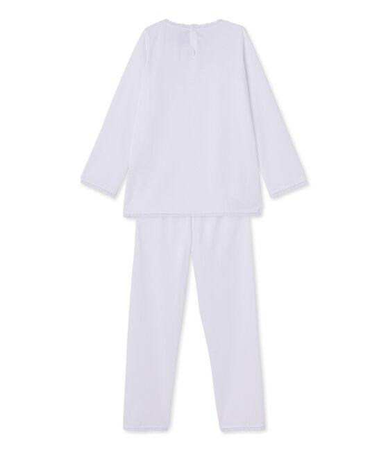 Pyjama fille à pois bianco Ecume