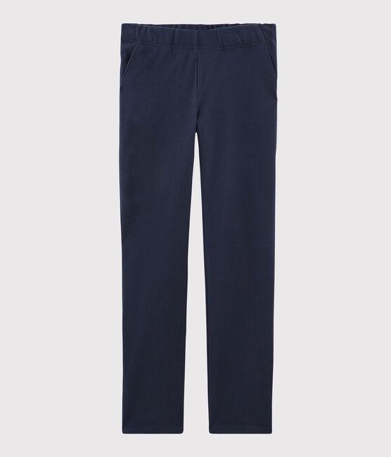 Pantalone blu navy Donna SMOKING