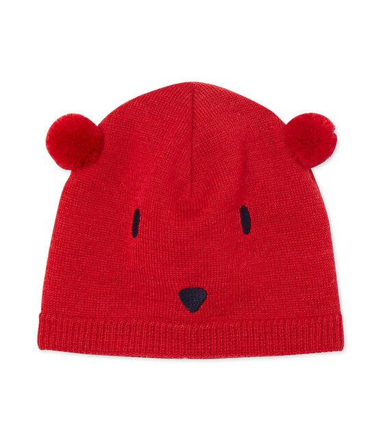 Cappello per bebé unisex rosso Froufrou