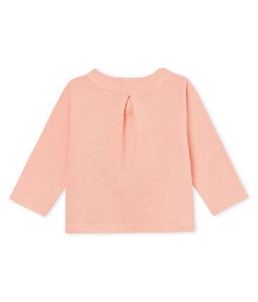 Cardigan bambina in cotone/lino