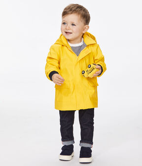 Cerata iconica Petit Bateau bebè femmina/maschio giallo Jaune