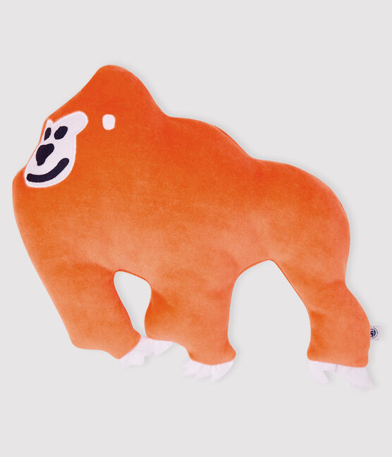 Doudou peluche orango arancione Oursin