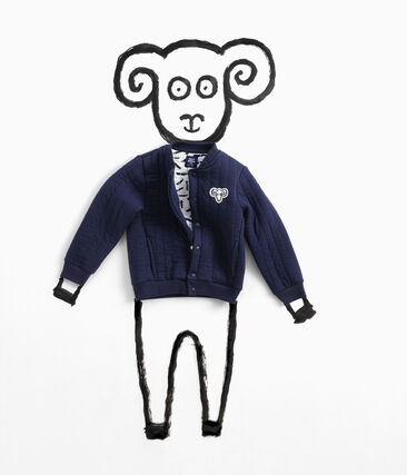 Teddy Jean Jullien blu Smoking
