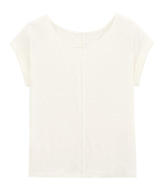 Maglietta a maniche corte bianco Lait