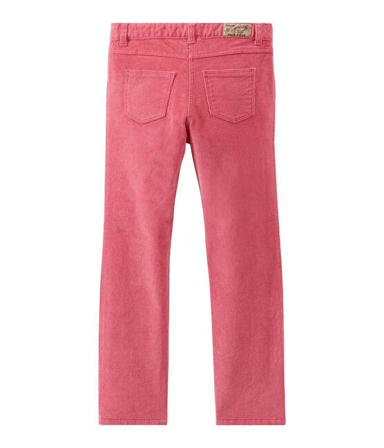 Pantalone per bambina rosa Cheek