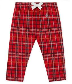 Pantalone maschietto in maglia a scacchi