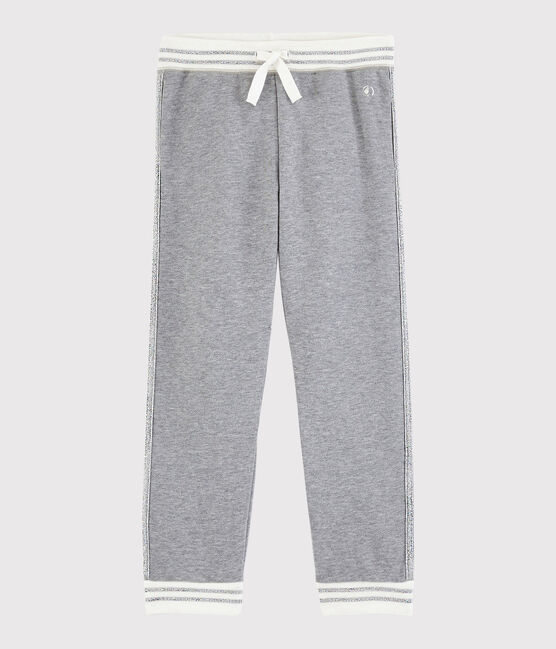 Pantaloni sportivi bambina grigio Subway