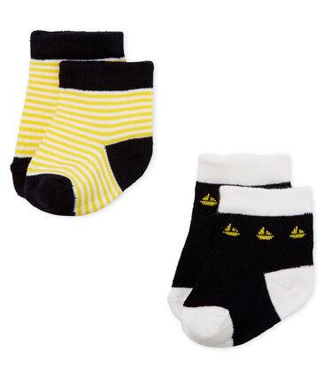 Confezione da 2 paia di calzini neonato