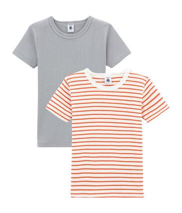 Lotto di 2 t-shirts a maniche corte bambino