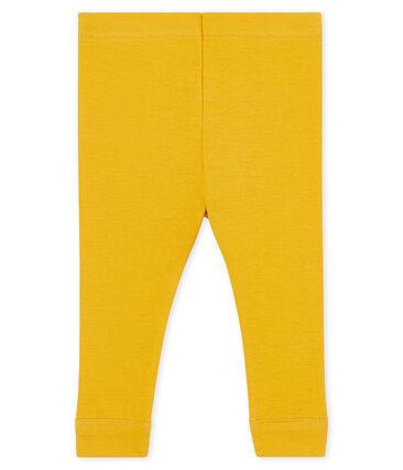 Leggings bebè femmina giallo Boudor
